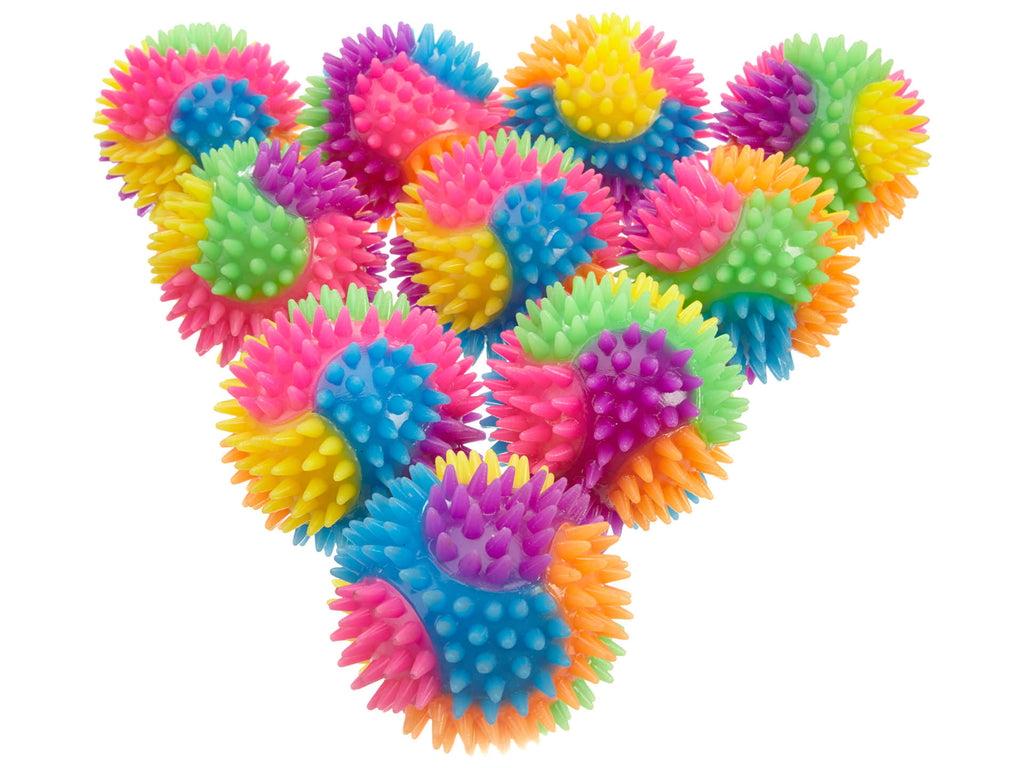 Everbright Flashing Spiky Ball 12pcs Pack Not Applicable Style : Ba75