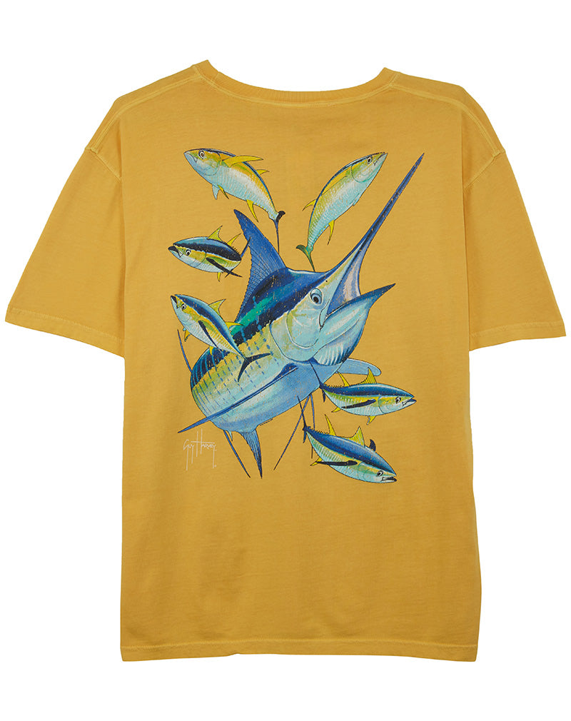 Guy Harvey Marlin Yellowf Mens Style : Mth7221