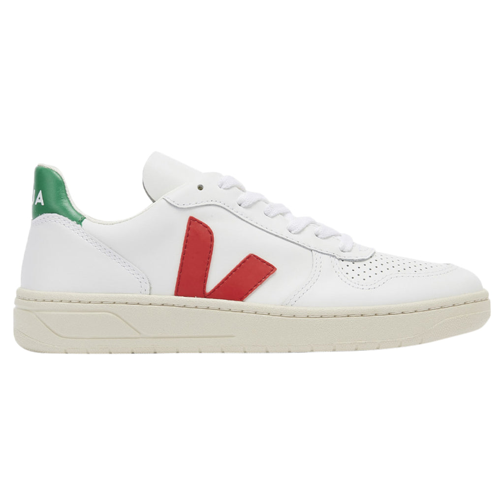 Veja V10 Leather Extra White Mens Style : Vx021788