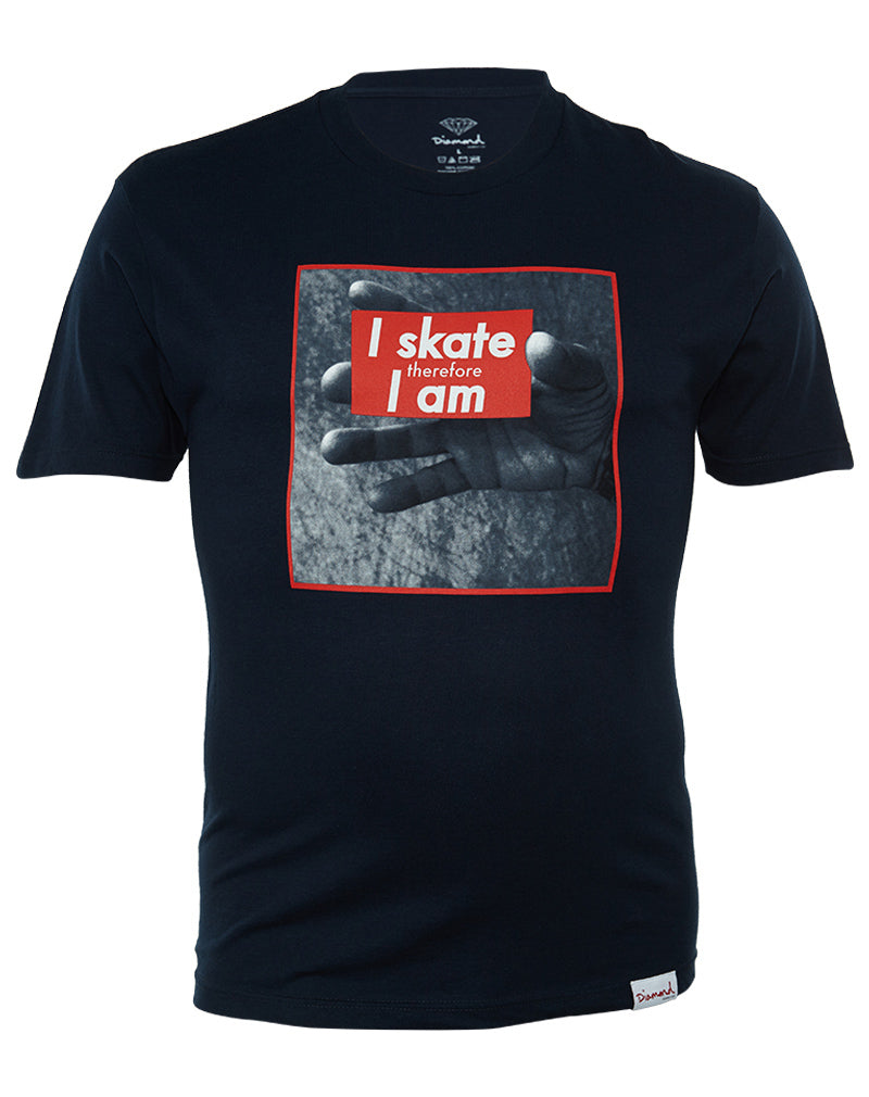 Diamond Supply Co I Skate Therefore I Am  Mens Style : 137665
