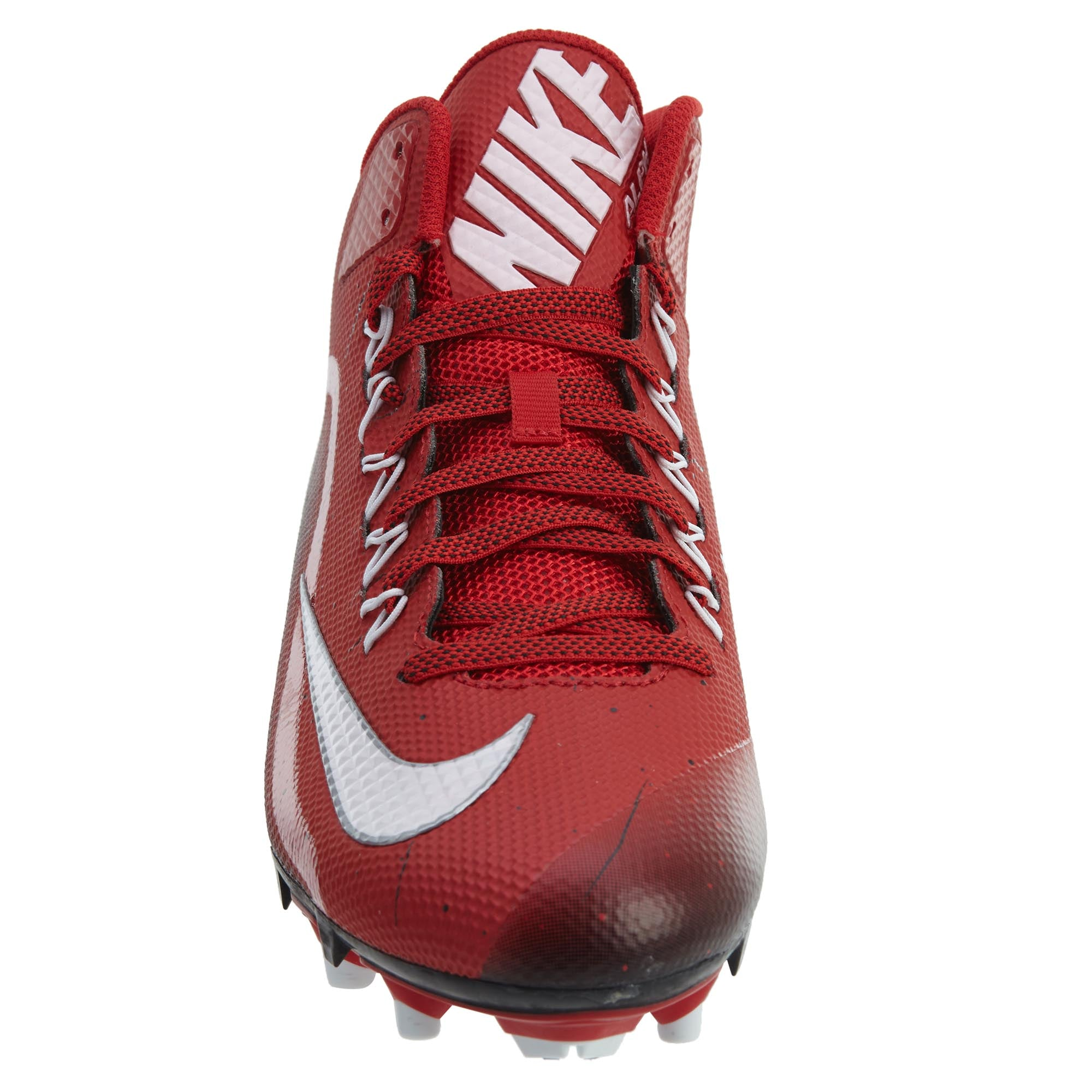 f2c416a24e02 NEW NIKE FOOTBALL cleats mens ALPHA PRO 2 Nike skin US sizes 719927-610 RED  WHIT Men