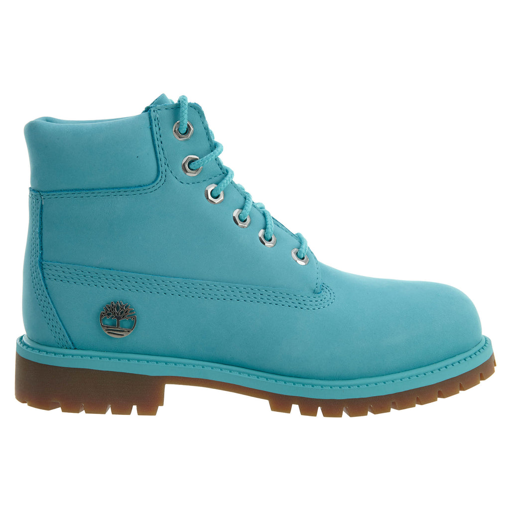"Timberland 6"" Premium Waterproof Boots Shoe Little Kids Style : Tb0a1jne"