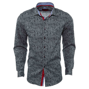 Elie Balleh Milano Italy Casual Shirt Mens Style : Ebsh246-1m