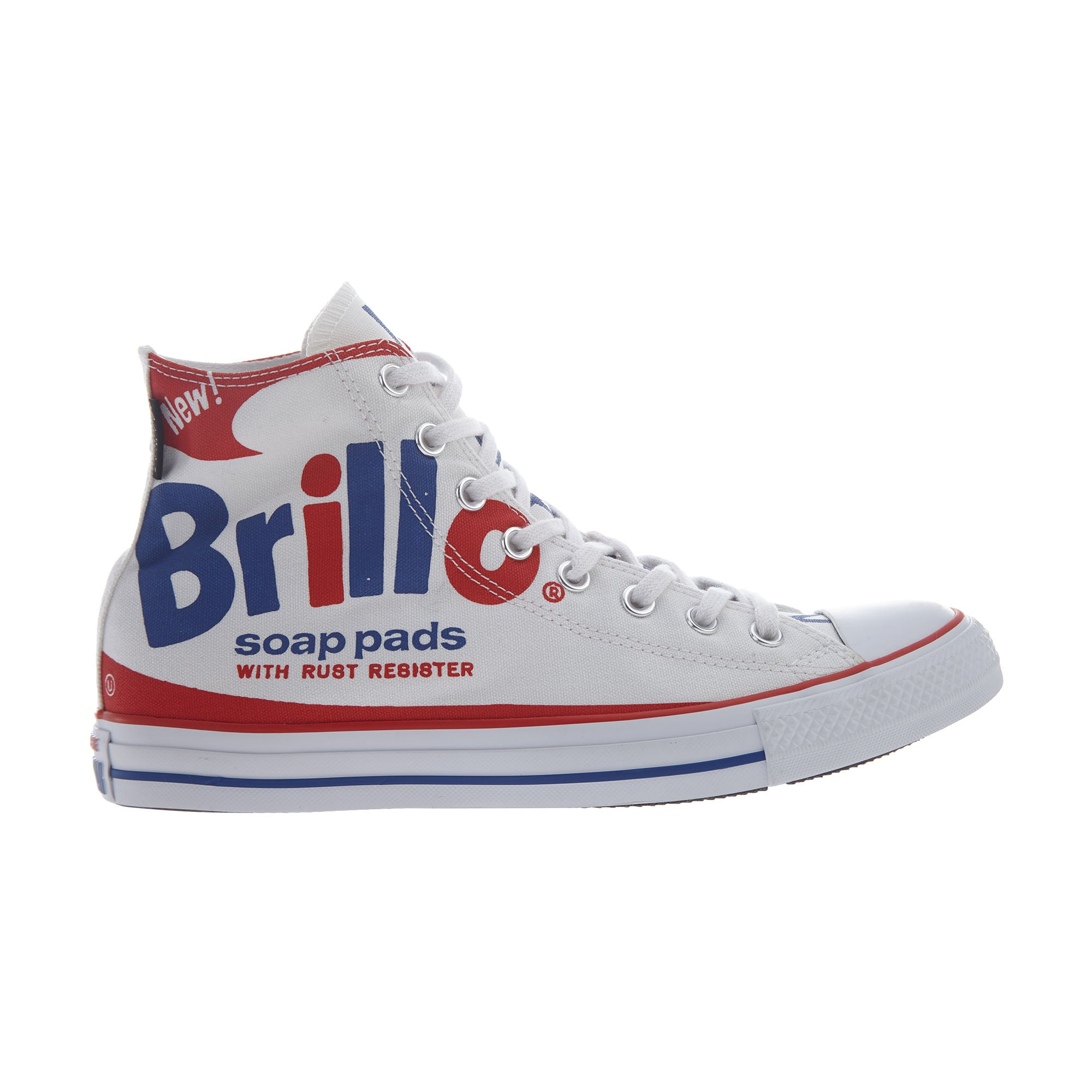 4b42aef9bb27 Converse Chuck Tailor All Star Hi Unisex Style   153838f-WHITE RED BLU