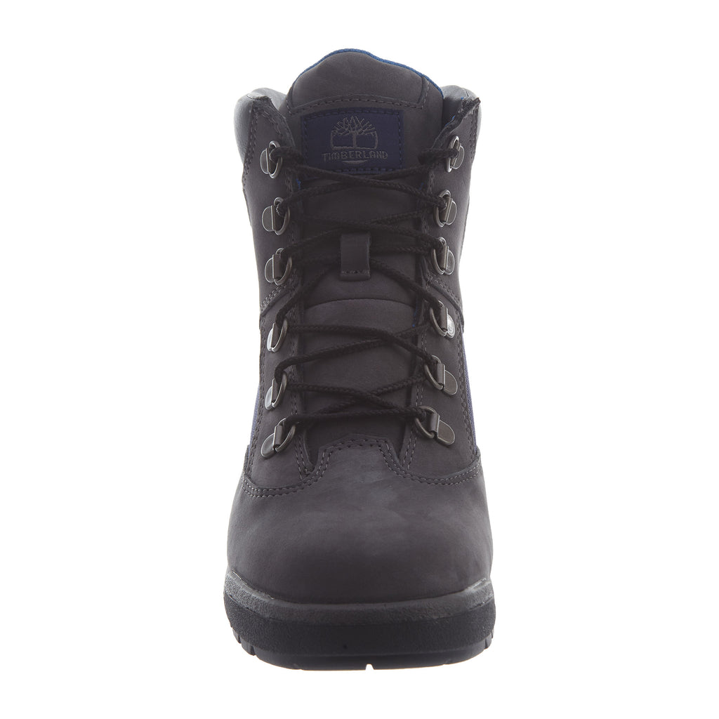 "Timberland 6"" Field Boots Nb Big Kids Style : Tb0a1ro8-Dark Grey"