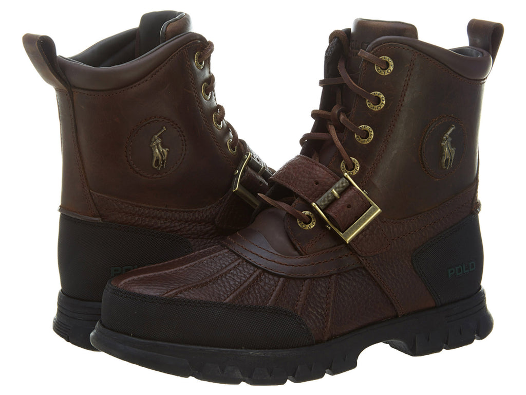 Polo Ralph Lauren Dover Hi Iii M Br/M Br  Pitstop /Timber Mens Style 812172367