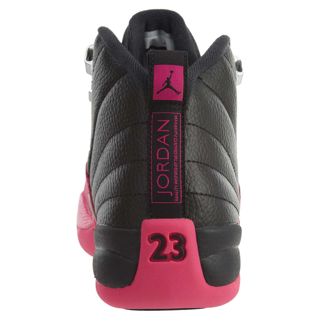 Jordan 12 Retro Black Deadly Pink