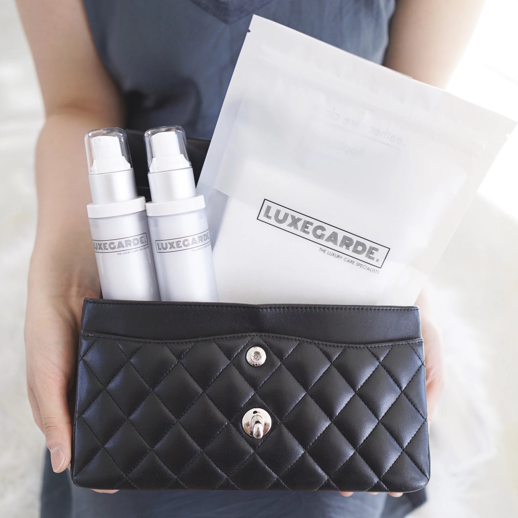 luxegarde leather cleanser protector pack