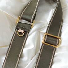 Load image into Gallery viewer, Luxegarde's Adjustable Nylon Replacement Strap is the perfect accessory to customise your existing bags (eg Louis Vuitton Mini Pochette, Pochette Accessoires, Pochette Metis, Speedy), convert your favourite small leather goods into a bag (Nano Nice or Cosmetic Pouch or Toiletry pouch 26) or just as a replacement strap.