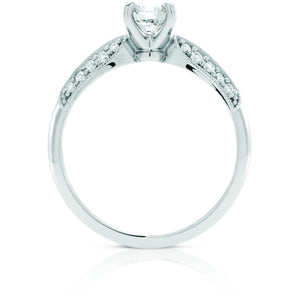 White Gold Multi Set Diamond Ring in Australia