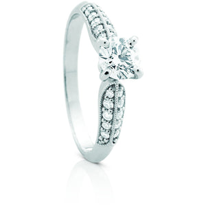 Multi Set Diamond Ring made in Australia
