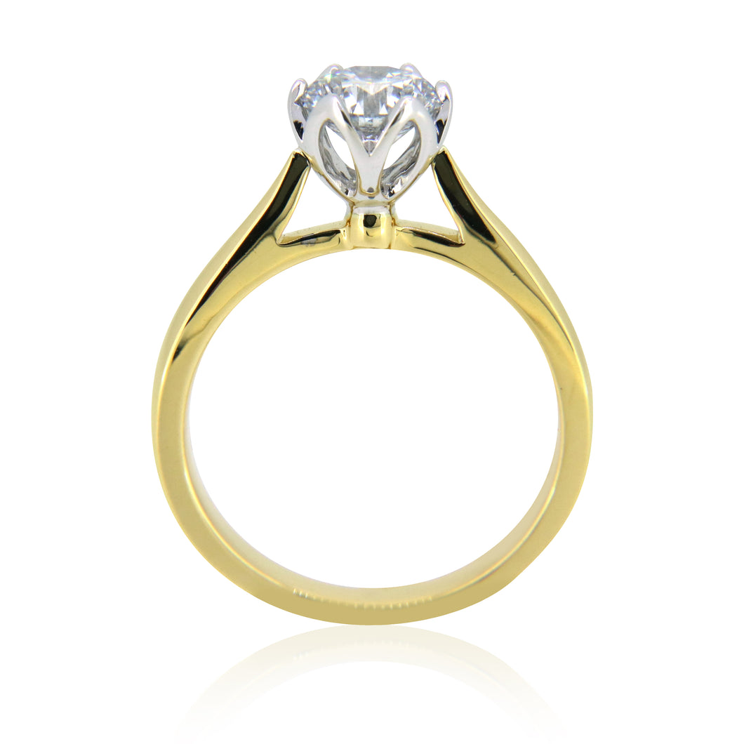 1ct Solitaire Ring Greenhouse Diamond G I1 1.05ct SALE!