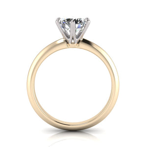 18K Yellow Gold Solitaire Ring in Australia
