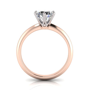 6 claw solitaire diamond ring in Australia by Greenhouse Diamonds