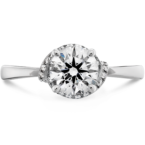 Optima Engagement Ring with Lab Grown Diamond