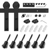 8ft Sliding Barn Door Hardware Kit