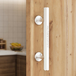 ALAMEDADT 10 Inch Stainless Steel Barn Door Handle/Pull