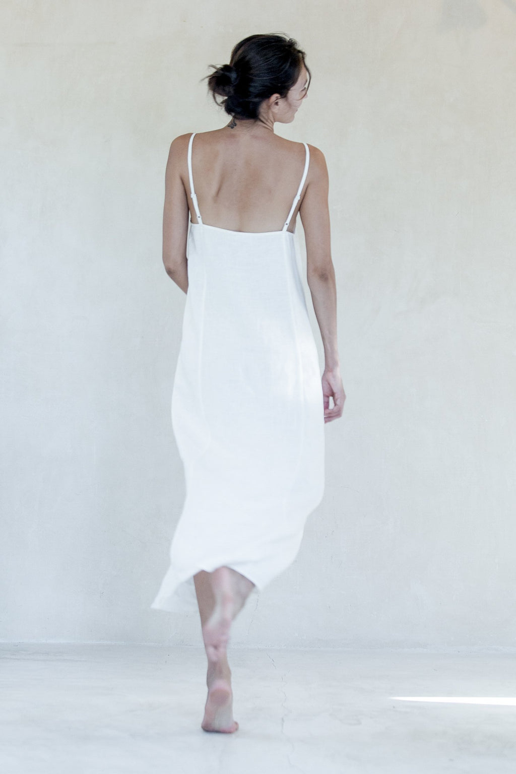 White Zen Dress