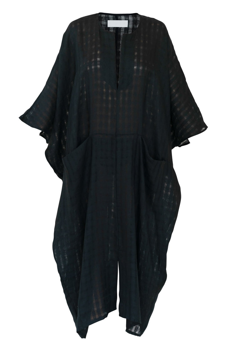 Sheer Linen Sanctuary Kaftan