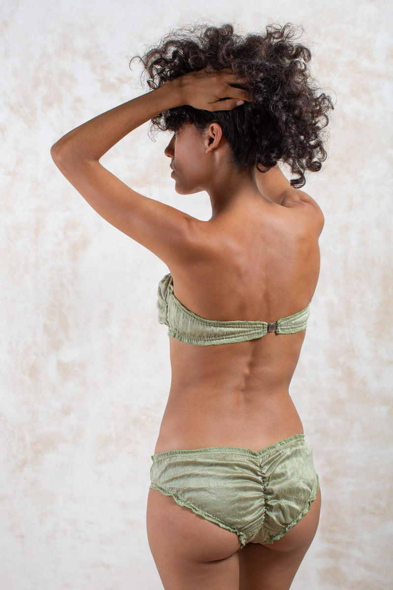 Golden Jade Raw Silk Dream Bikini