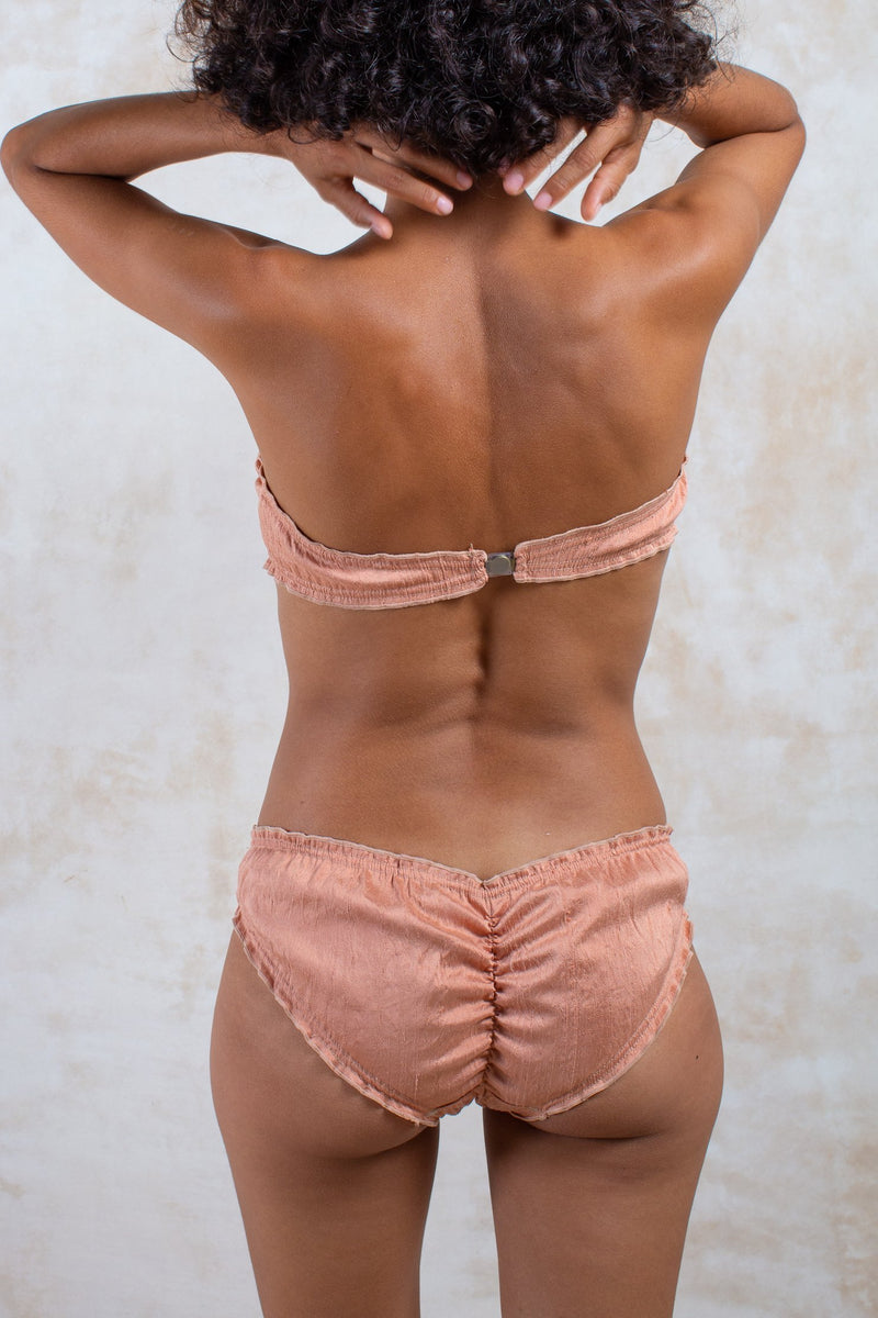 Peach Raw Silk Dream Bikini