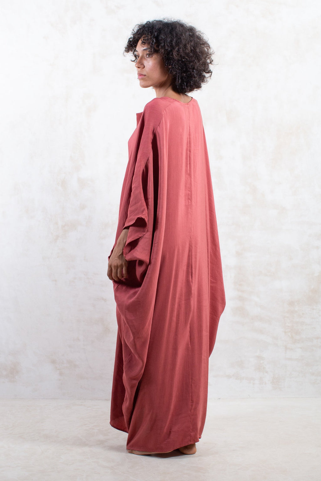 Damask Silk Sanctuary Kaftan