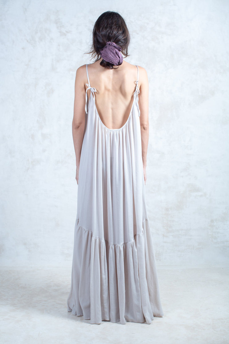 Organic Nude Shelly Dress