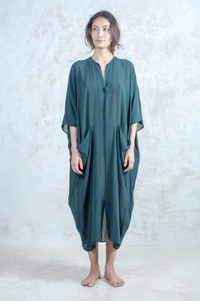 Emerald Sanctuary Kaftan