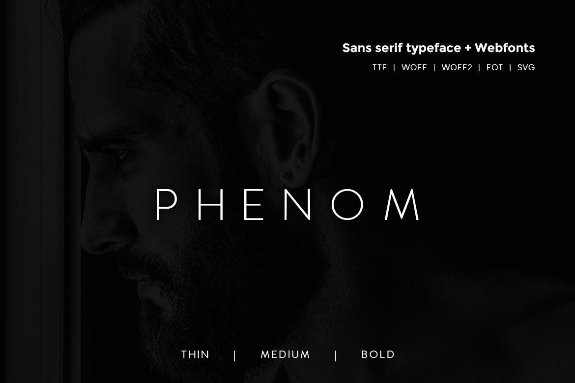 Phenom Grotesque - Modern  Webfonts