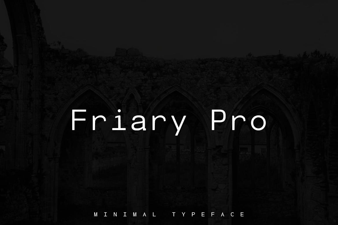 Friary Pro Typeface + Web Fonts