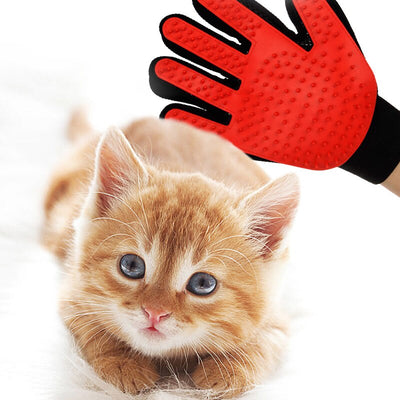 Grooming-Glove Dog-Massage Comb Bath-Brush Cat Animals for HOOPET Hair-Remover Pet-Cleaning-Supplies