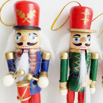 Decorative-Pendant-Props Toy-Supplies Puppet Hanging-Decorations Soldier Nutcracker-Shape