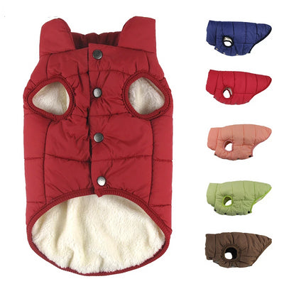 Winter pet coat clothes for dogs Winter clothing Warm Dog clothes for small dogs Christmas