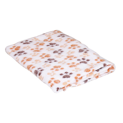 Bed Dog Blanket Dog-Beds Cushion-Bone-Print Labrador Pet-Dog Warm Soft-Fleece Golden Retriever