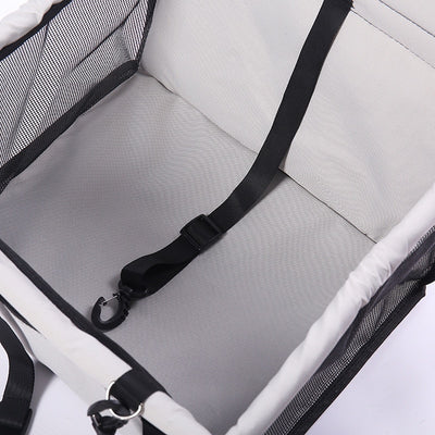CAWAYI KENNEL Travel Dog Car Seat Cover Folding Hammock Pet Carriers Bag Carrying
