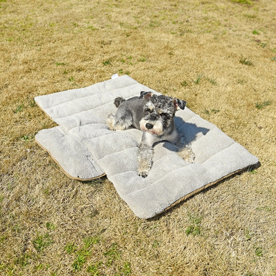 Pet Dog Beds For Foldable Dog Mats Soft Portable Pet Cushion Convenience Carry