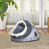 Puppy Kennel SHELTER Dog-House Soft-Hair Animals-Edge Dog Cave Small Bed Nest