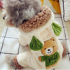 Four-Legs Clothing Overall Dog-Costume Puppy-Animal Dinosaur Small Winter Little Bear