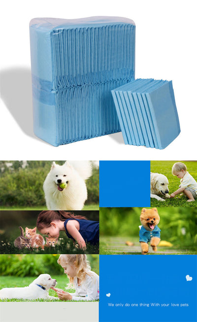Urine-Pad Diapers Underpads Training Disposable for 50pcs/Lot Pet-Dog Heavy-Absorbency