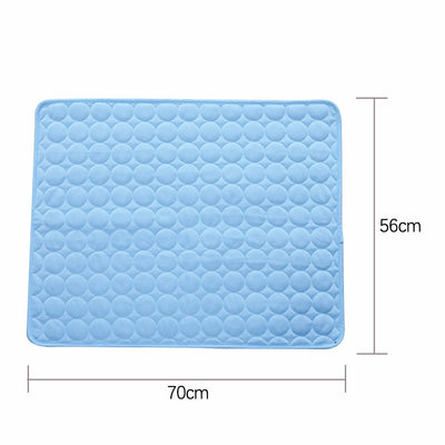 Summer Pet Cooling Mats for Dogs Summer Dog Bed for Small/Medium/Large Dogs