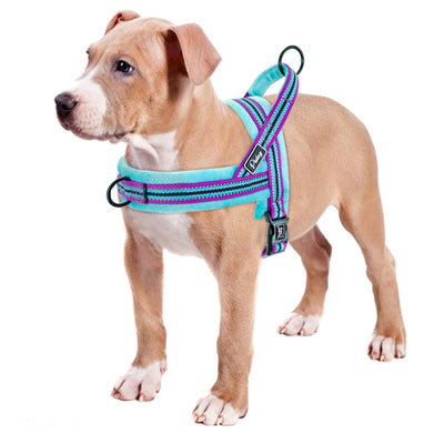 Vest Harnesses Pitbull Reflective Heavy-Duty Pet-Puppy No-Pull Big Dogs Large Medium