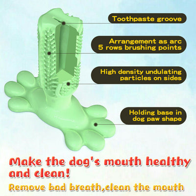 New Design Dog Chew Toy Brush Effective Toothbrush for Dogs Pets Oral Care Dog Brushing