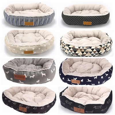 Kennel House-Mat Bench Sofa Puppy-Beds Pet-Product Cats Dogs Animal Small Large Medium