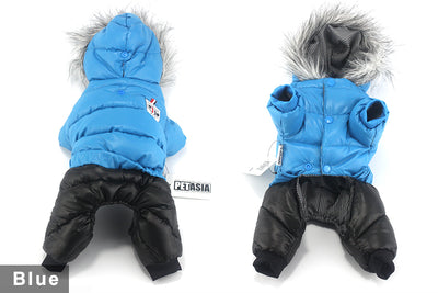 Hoodies Down-Jacket Dog-Coat Pet-Dog Small Dogs Chihuahua Waterproof Winter Cotton Super