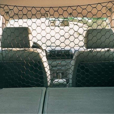 Trunk Dog-Fences Dog-Barrier Mesh-Wire Safe-Net Pet-Safty for SUV Vehicle Car-Cargo-Area
