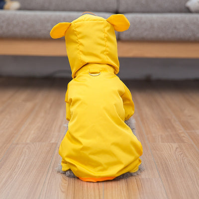 Hipidog Raincoat Jacket Puppy-Costume Teddy Pet Dogs Waterproof Schnauzer Small Cat Animal-Style