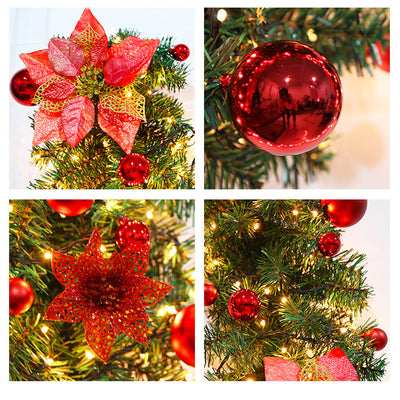 Hanging-Ornament Wreath-Decoration Garland Christmas-Party Outdoor Home Rattan for Wedding