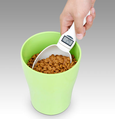 Mysudui Cup Spoon Pet-Food Dog-Feeding Water-Scoop Portable 800G with Led-Display Kitchen-Scale