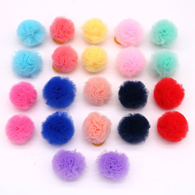 Grooming Bows Hair-Accessories Pet-Supplies Color-Ball Dog Puppy-Dog Small Cute for Bright