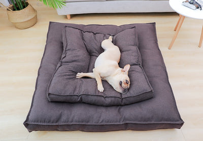 Hoopet Bed House Sofa Nest Puppy-Kennel Dog-Bed Sleeping-Bag Warm Large Soft